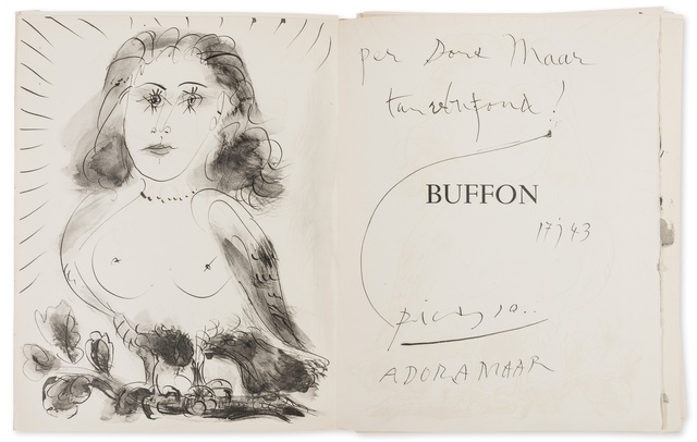Pablo Picasso, '40 Dessins de Picasso en Marge du Buffon (Cramer books 84)', Forum Auctions
