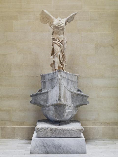 'Victoire de Samothrace (Winged Victory of Samothrace)', ca. 190 BCE, Musée du Louvre