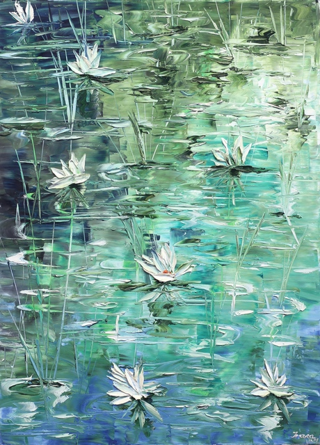 , 'Waterlilies,' 2017, Artspace Warehouse