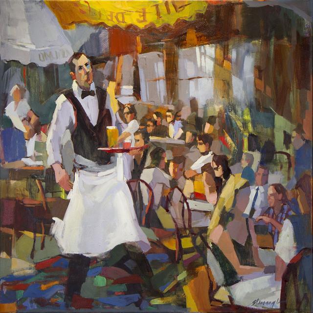 , 'Waiter Abstraction,' 2017, CODA Gallery