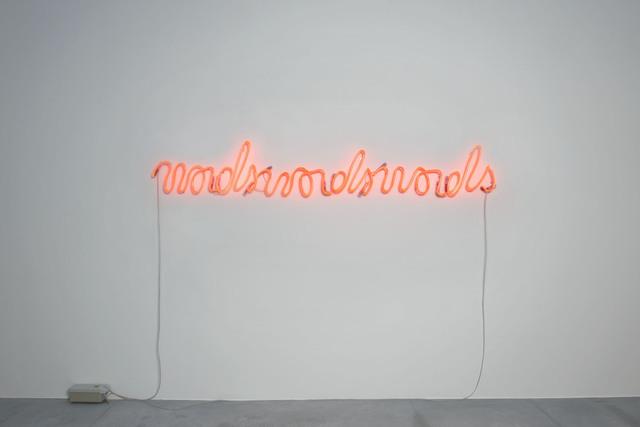 , 'Wordswordswords,' 2014, Xippas