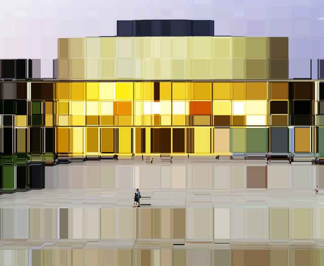 , 'The Culture Square (Habima) Tlv,' 2015, Winston Wächter Fine Art