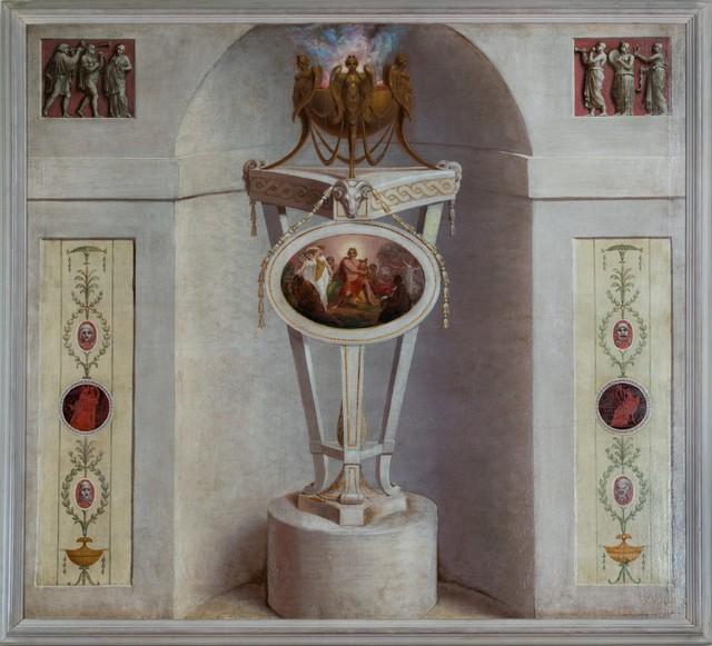 , 'Trompe l'Oeil Chimney Board designed by James Wyatt (1746–1813),' ca. 1772, Thomas Coulborn & Sons