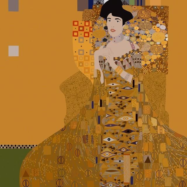 , 'Adele Bloch-Bauer I (by Gustav Klimt),' 2016, Fraenkel Gallery