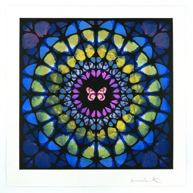 Damien Hirst, 'Spire (from the Sanctum series)', 2009, Print, Photogravure etching on 400 gsm Velin Arches paper, Joseph Fine Art LONDON