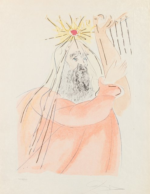 Salvador Dalí, 'King David, from Our Historical Heritage', 1975, Heritage Auctions