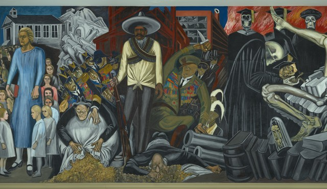 , 'The Epic of American Civilization,' 1932-1934, Philadelphia Museum of Art