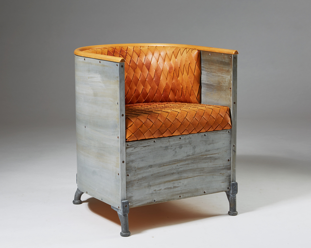 , 'Armchair 'Aluminium' designed by Mats Theselius for Källemo, Sweden. 1990.,' 1990-1999, Modernity