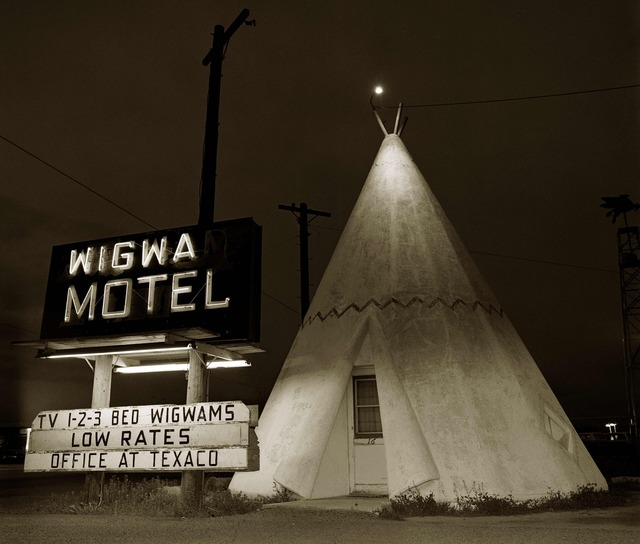 , 'Motel, Highway 66, Holbrook, Arizona,' 1973, photo-eye Gallery