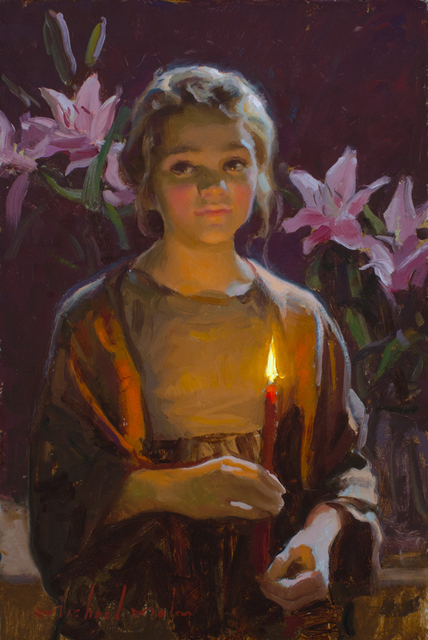 , 'Candle's Warmth,' 2016, Trailside Galleries