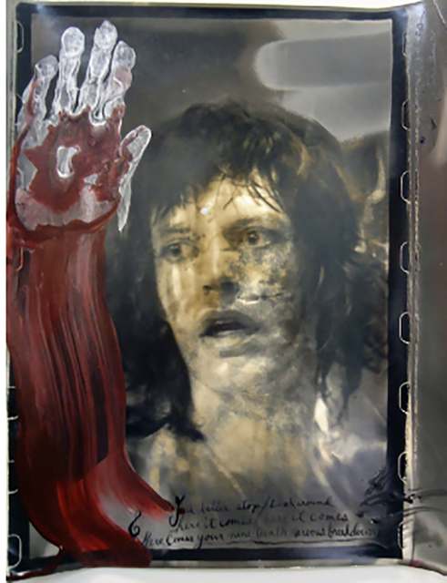 Peter Beard, 'Mick Jagger', 1972, Photography, Sepia Toned Silver Gelatin Photograph, HG Contemporary