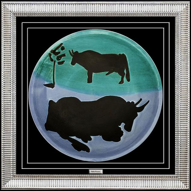 Pablo Picasso, 'PABLO PICASSO MADOURA CERAMIC Plate ', 1950-1969, Design/Decorative Art, Ceramic and Porcelain, Original Art Broker