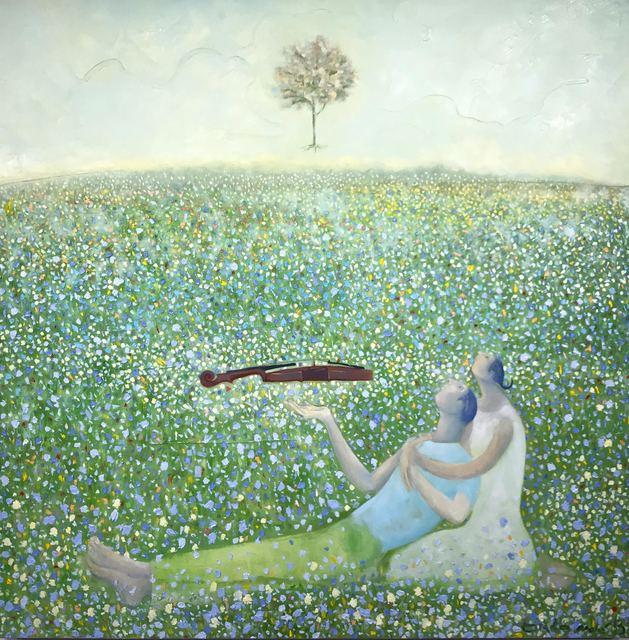 Orlando Agudelo Botero, 'SERENATA A LA VIDA, EL JARDIN DE LAS MIL Y UNA FLOR', 2017, Ethos Contemporary Art