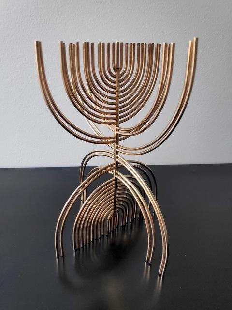 Yaacov Agam, 'Menorah', 1988, Kunzt Gallery