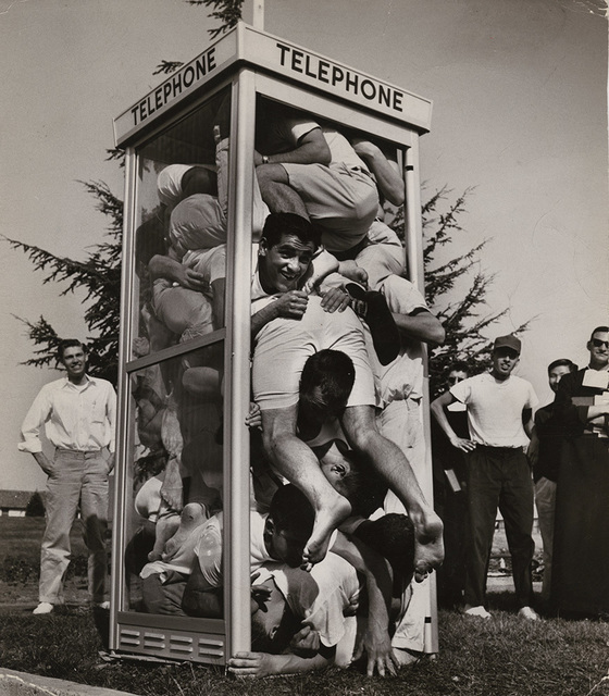 Joseph Munroe | Telephone Booth Stuffing (1959/1959) | Available for Sale |  Artsy