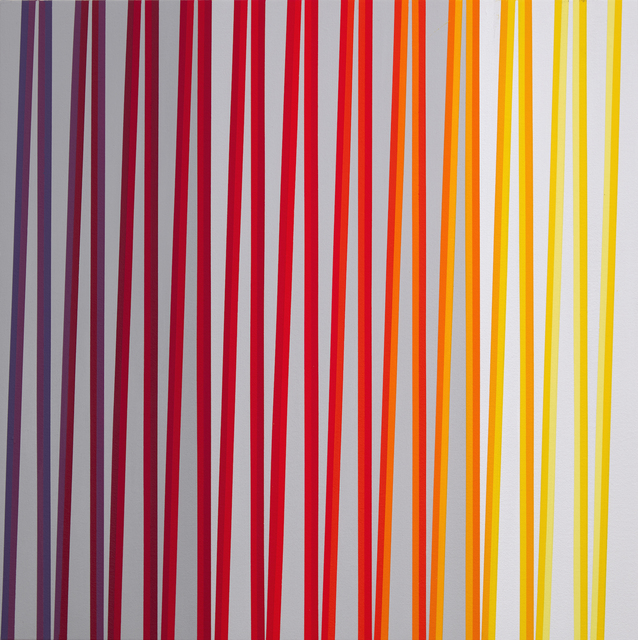 , 'From Violet to Yellow over Red, ZigZag Series,' 2019, Minus Space