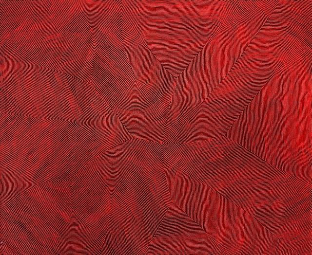 Warlimpirrnga Tjapaltjarri, 'Maruwa', Wentworth Galleries