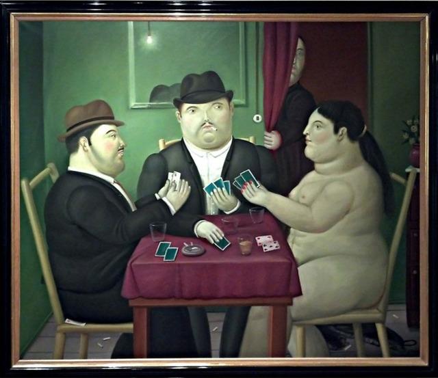 Fernando Botero, 'Card Players', 1991, Painting, Oil on canvas, David Benrimon Fine Art