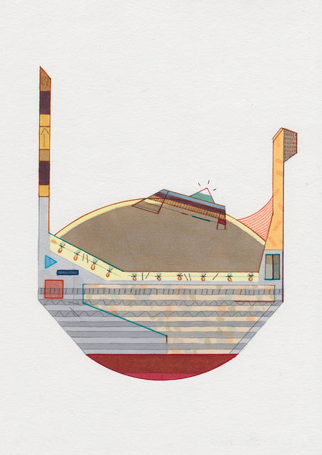 Amba Sayal-Bennett, 'Raster-Render', 2015, LUNDGREN GALLERY