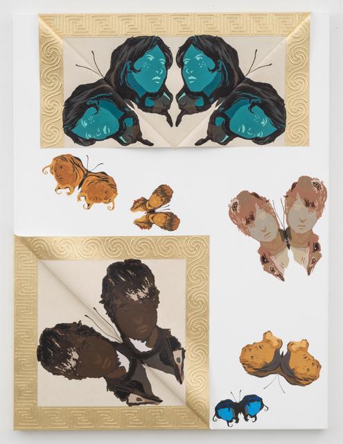 , 'Unique Janus Butterflies 9,' 2014, David Lewis