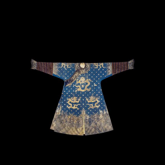 , 'Blue silk dragon robe, Jifu,' Qianlong (1736-1795), Art Museum of the Chinese University of Hong Kong