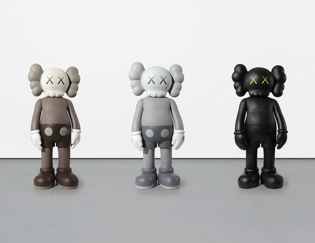 KAWS, 'Companions, three works', 2007, Sculpture, Three cast vinyl and painted sculptures, Phillips