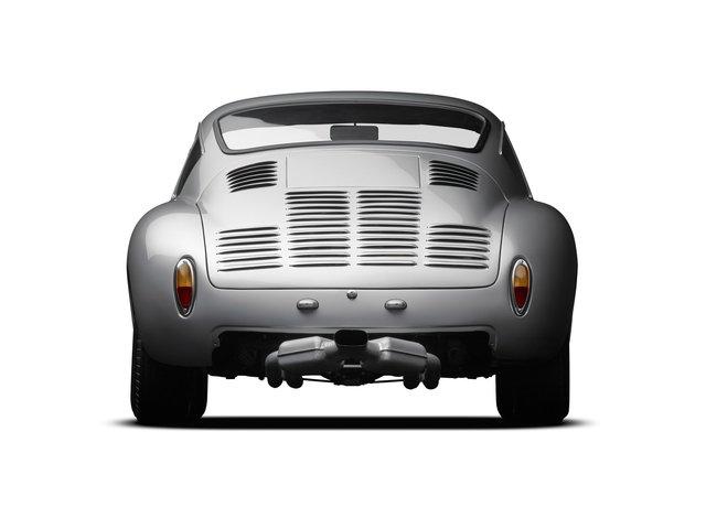 Michael Furman, '1961 PORSCHE 356 GTL ABARTH REAR', ca. 2014, Photography, Michael Furman, Photograph, Porsche, Porsche Portraits, Patina Gallery