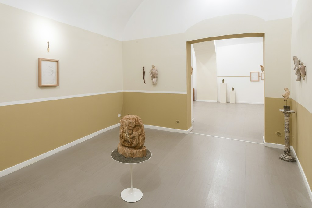Evgeny Antufiev, Fusion and absorption, installation view at z2o Sara Zanin Gallery, Rome, room 2