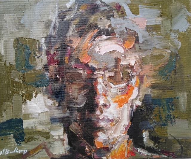 Vavatsis Nikos, 'untitled42', 2020, Painting, Oil on canvas, nord.