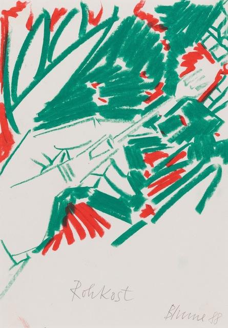 , 'Rohkost,' 1988, Riva di Morcote Fine Arts