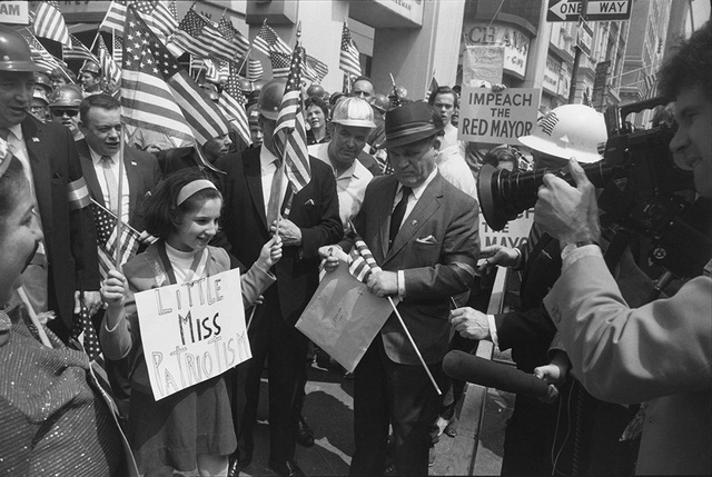 , 'Hard-Hat Rally, New York,' 1969, Pace/MacGill Gallery