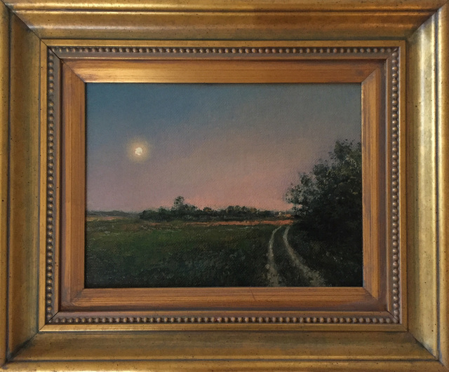 , 'Moonrise: Long Island Country Road,' 2005, Grenning Gallery