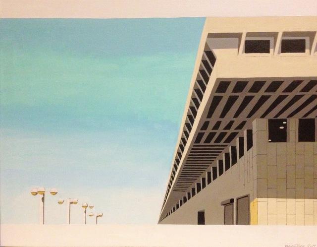 , 'Atarim Square, Tel Aviv, Israel,' 2016, Clyde Hogan Fine Art