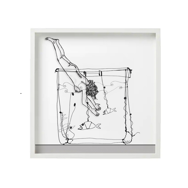 , 'Diving Into Calder's Goldfish Bowl,' 2015, The Untitled Space
