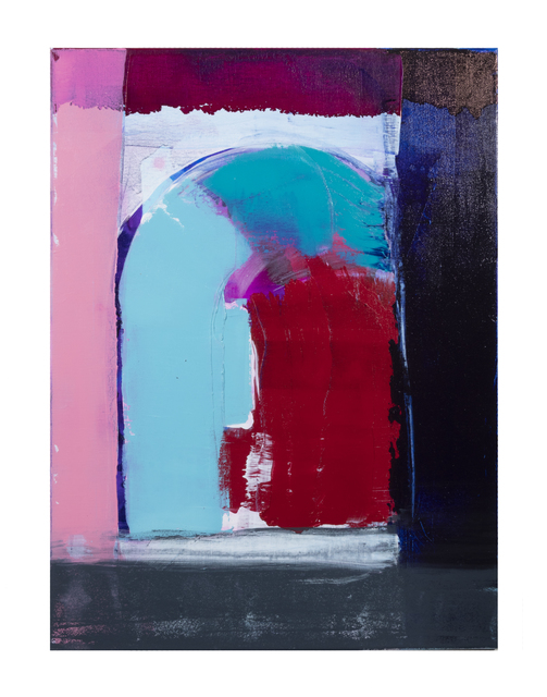 Eric Sanders, 'Reservoir Abstract Series No. 7', 2019, Painting, Acrylic and oil on canvas, Cross Contemporary Partners