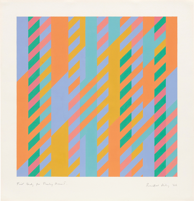 Bridget Riley, 'First Study for Fleeting Moment', 1986, Phillips