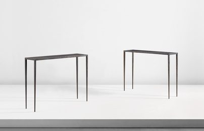 Jean-Michel Frank, 'Pair of console tables,' ca. 1938, Phillips: Design