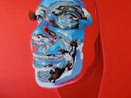 , 'Diovadiova Chrome Michelle III,' 2015, Jonathan LeVine Projects