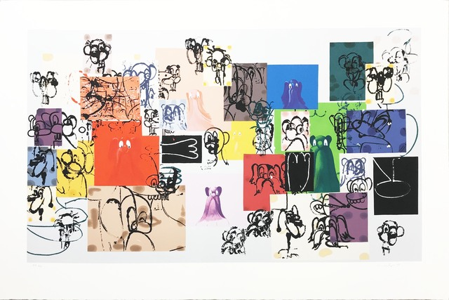 George Condo, 'Paper Faces', 2000, Hamilton-Selway Gallery Auction