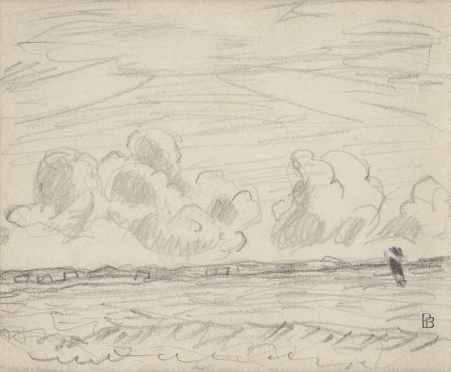, 'Nuages sur la mer,' 1936, HDM Gallery