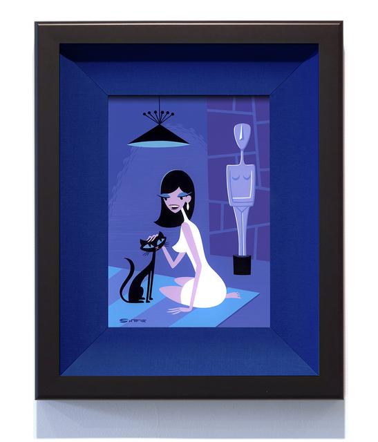 , 'Woman with False Idol I,' 2015, Jonathan LeVine Projects