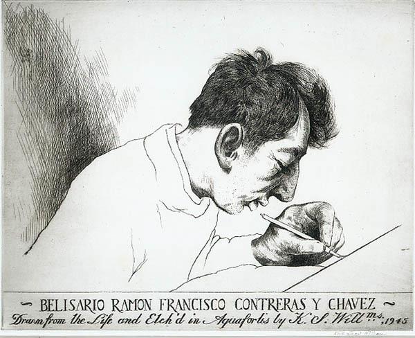 , 'Belisario Ramon Francisco Contreras y Chavez (Mexican 1917-1940),' 1945, Childs Gallery