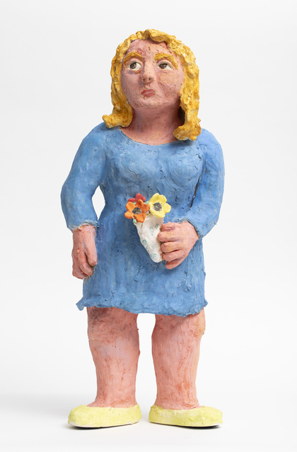, 'Blue Lady,' 2018, Nathalie Karg Gallery