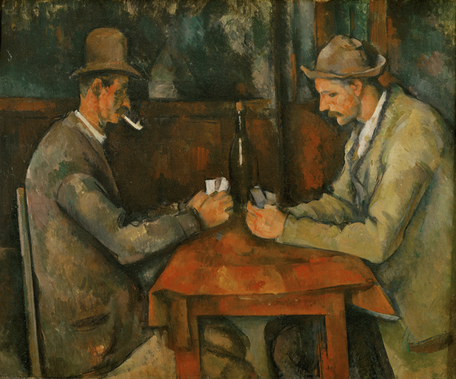 Paul Cézanne, 'The Card Players,' 1890-1895, Erich Lessing Culture and Fine Arts Archive