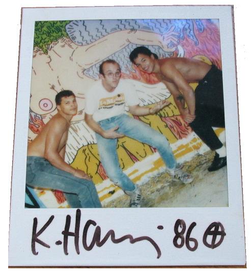 "Keith Haring, '""Polaroid 86""', 1986, VINCE fine arts/ephemera"