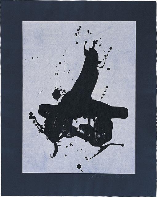 Robert Motherwell, 'Black on Black', 1978, Bernard Jacobson Gallery