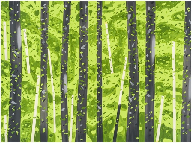 Alex Katz, '10:30 AM', 2017, Talley Dunn Gallery