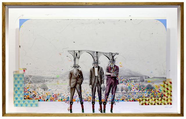 , 'Hombres Puente,' 2018, N2 Galería
