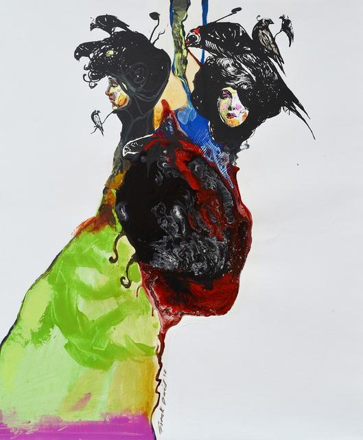 Frank David Valdés, 'Passage 6', 2018, Painting, Mixed media on canvas, ArteMorfosis - Cuban Art Platform