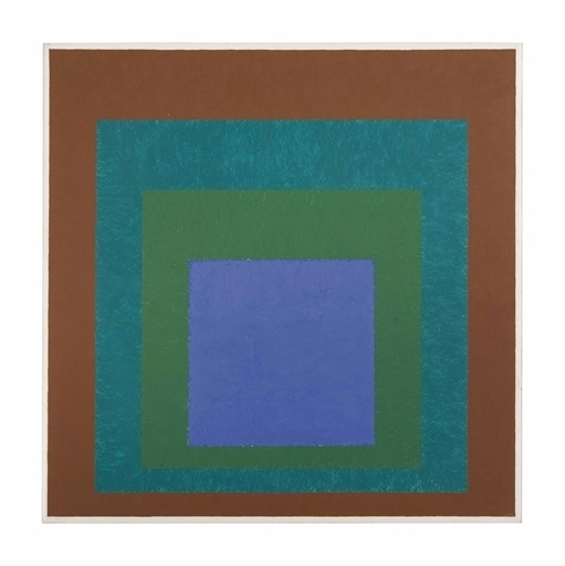 Josef Albers, 'Expanding (Homage to the Square)', 1954, Christie's